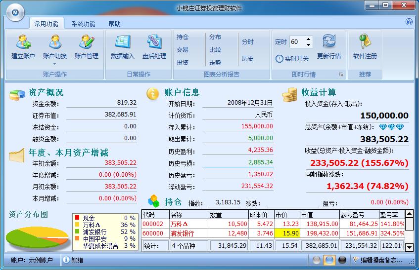 小钱庄证券投资理财软件截图0