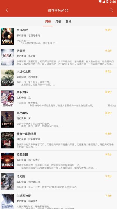 红果冻小说app截图1