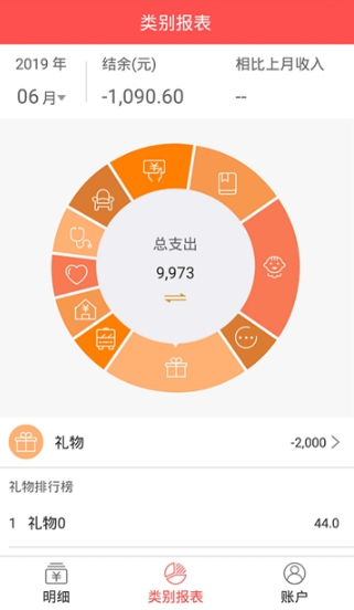 圈圈记账帮手app截图1