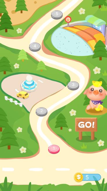养猪场的阳光休闲拼图游戏截图0