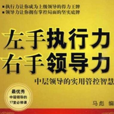 左手执行力右手领导力第2版蔡践电子书pdf免费下载