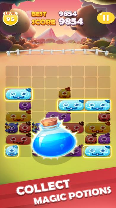 滑动怪物消除游戏截图3
