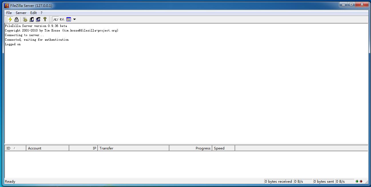 奥凯FTP传输工具免费版(FileZilla Server version)截图2