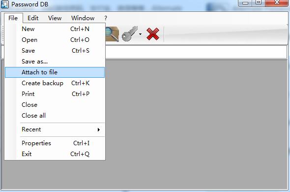 电脑密码管理器(Alternate Password DB)截图0