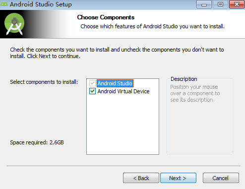 Android Studio(安卓开发工具)截图1