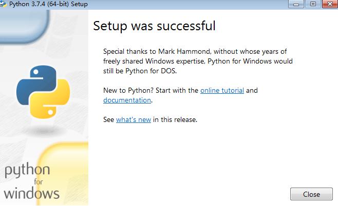 Python for Windows版截图1