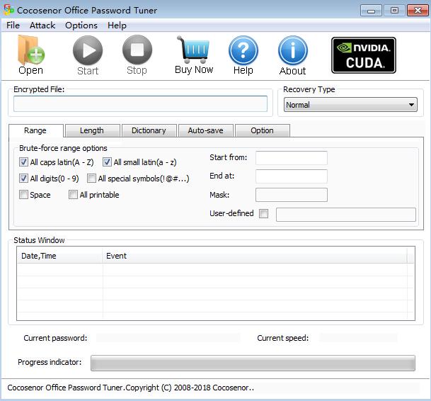 Office Password Tuner(Office密码恢复软件)截图1
