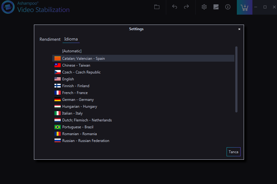 Ashampoo Video Stabilization(视频稳定处理软件)截图2