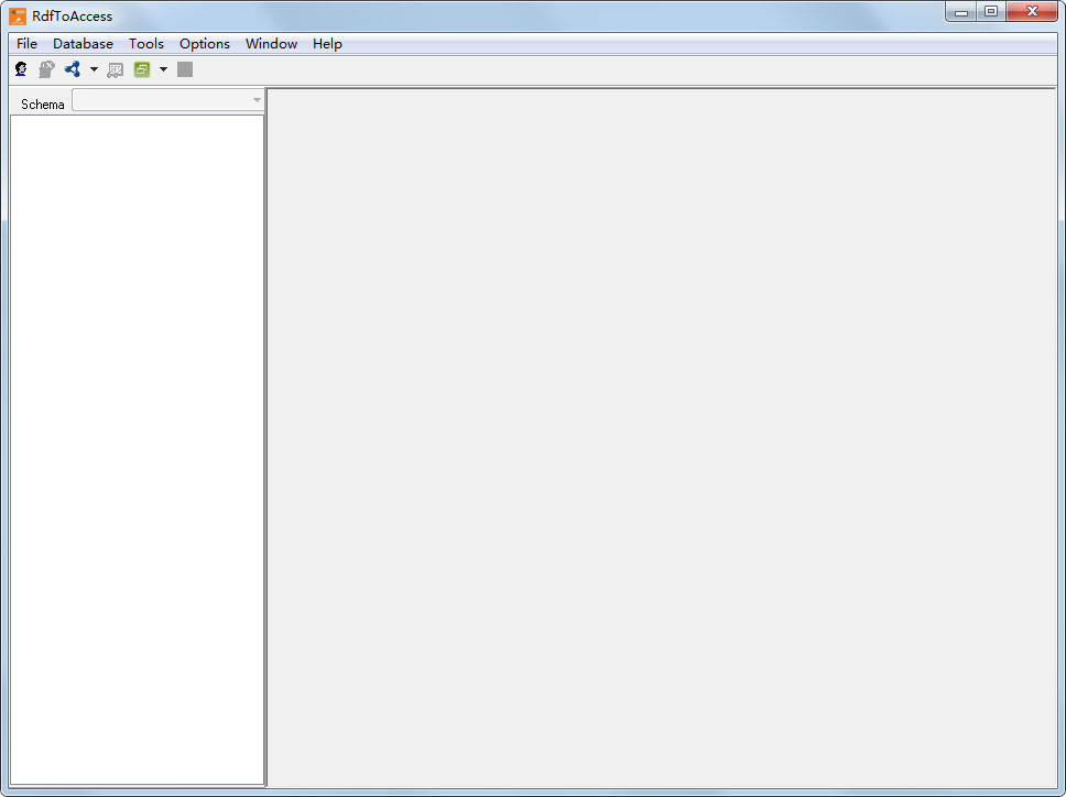RdfToAccess(PDF导入数据库工具)截图1