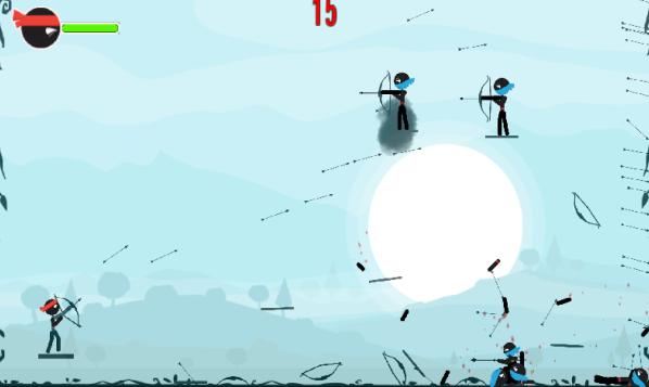 旋转的弓箭游戏截图1