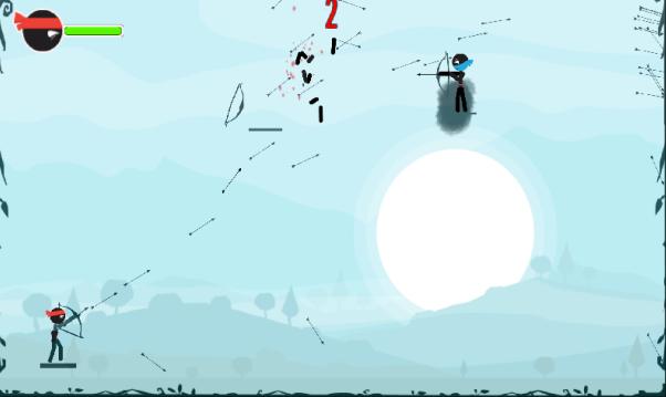 旋转的弓箭游戏截图2