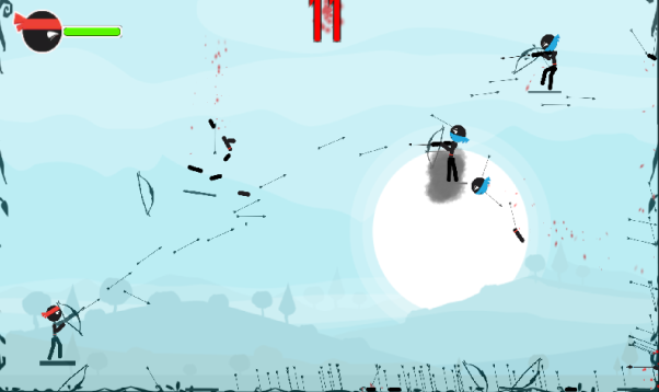 旋转的弓箭游戏截图3