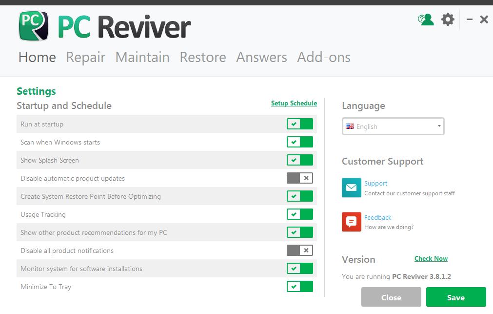 PC Reviver(电脑优化维护工具)截图0