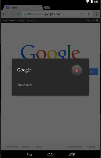 谷歌浏览器手机版截图0