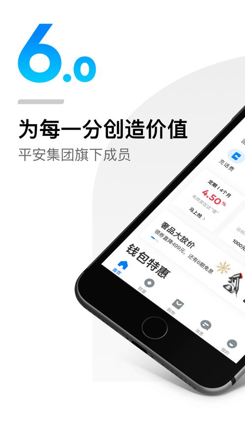 平安壹钱包app苹果版截图0