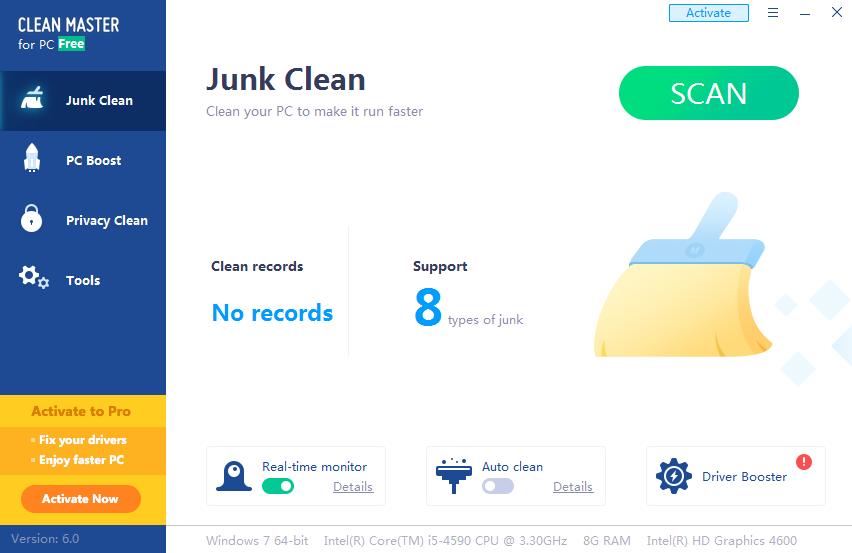 电脑清理大师(Clean Master)截图0