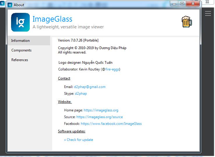 图像浏览工具(ImageGlass)截图1