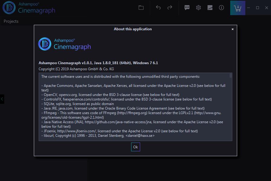 Ashampoo Cinemagraph(��D制作�件)截�D1