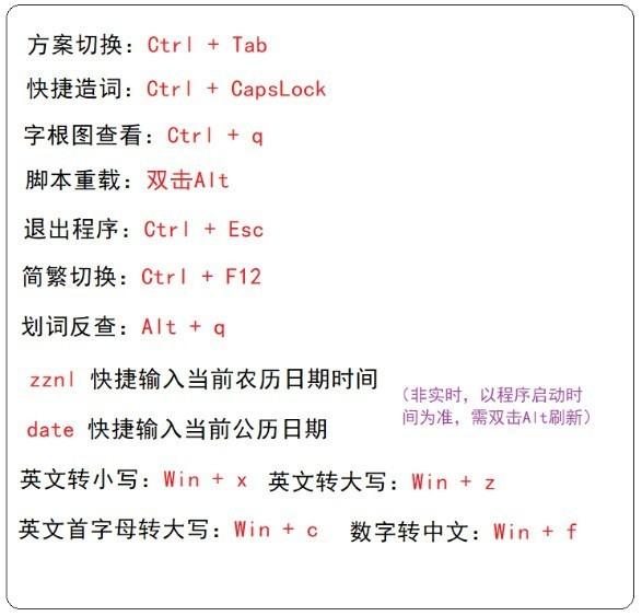柚子五笔输入法截图2