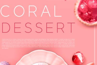 草莓冰淇淋背景psd素材