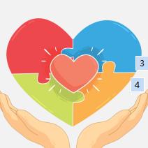 爱心公益活动捐款救助PPT模板