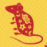 鼠年剪纸总结计划汇报通用ppt模板