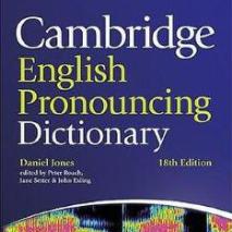 剑桥英语发音词典第18版电子书mdd+mdx音频版