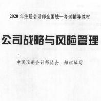 2021年公司战略与风险辅导教材pdf下载免费电子版