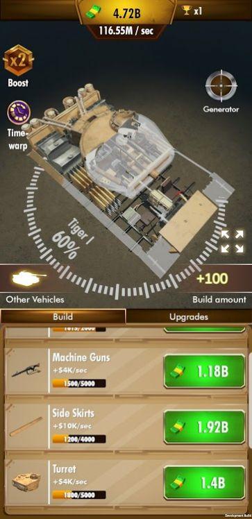 急速坦克游戏