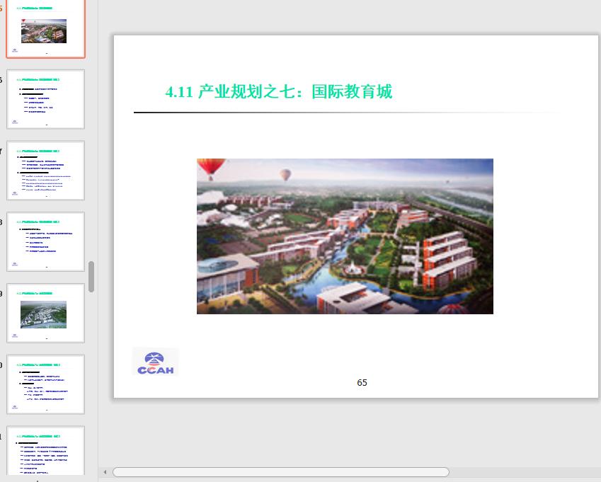 首都航空城发展规划总体策划方案最新ppt免费版截图3