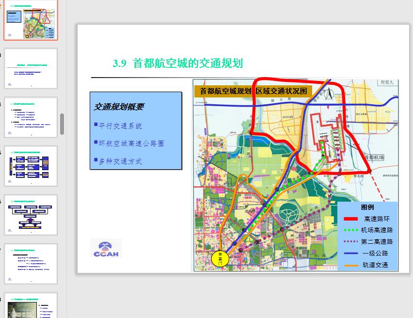 首都航空城发展规划总体策划方案最新ppt免费版截图1