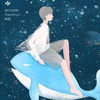 小清新梦幻海洋鲸鱼十二月你好PPT模板免费版高清完整版