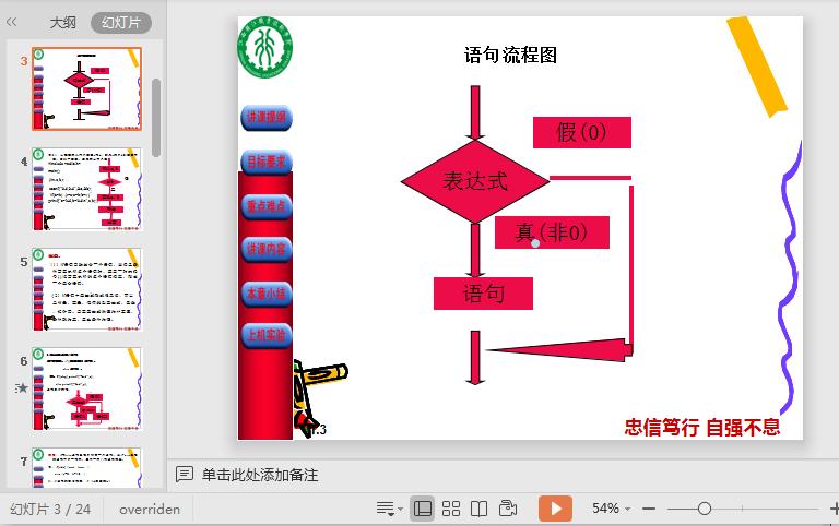 C语言选择结构程序设计ppt课件截图2