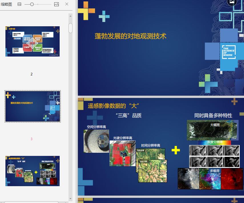 遥感技术发展与ENVI应用PPT截图1