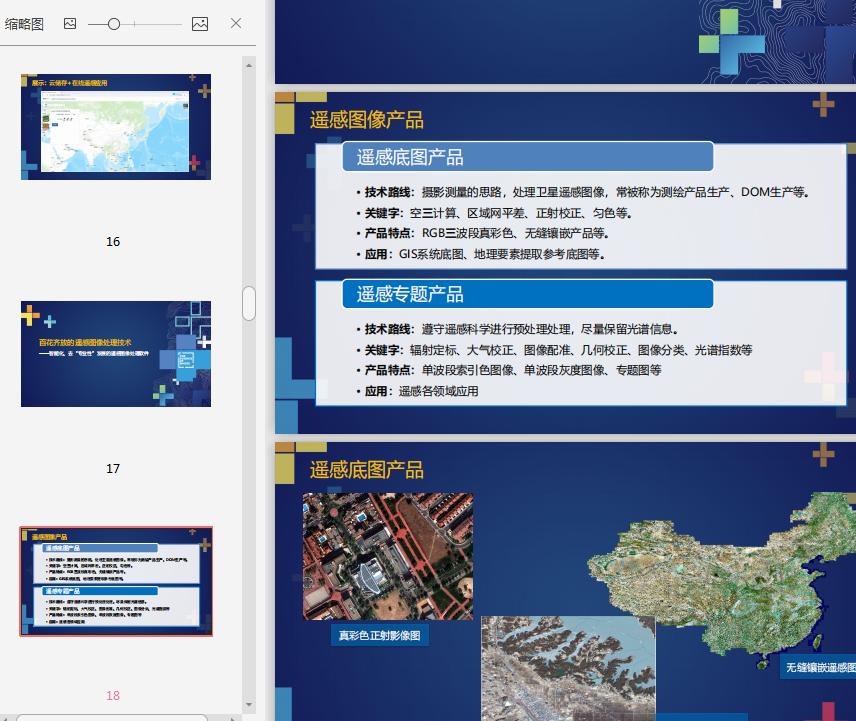 遥感技术发展与ENVI应用PPT截图3
