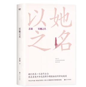 以她之名苏童小说PDF电子版下载