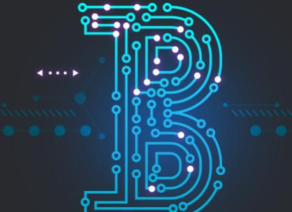 科技数码比特币背景PSD素材