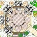 广场景观绿化分析设计CAD图纸
