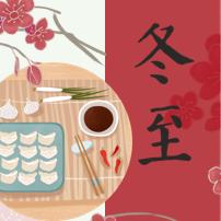 简约传统节日冬至活动策划PPT模板