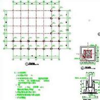 防腐木廊架施工图CAD图纸