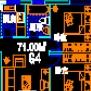 一套居住区住房户形平面设计CAD图纸