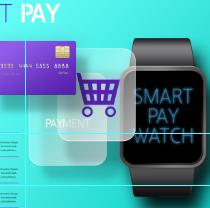 数码手表产品PSD素材