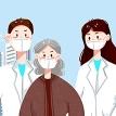 疫情防控请戴口罩PSD宣传海报素材