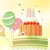 卡通祝你生日快乐PPT模板