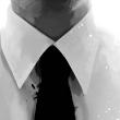 白色衬衫深色领带个人简历PPT模板