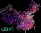 中国公路地图CAD完整版下载