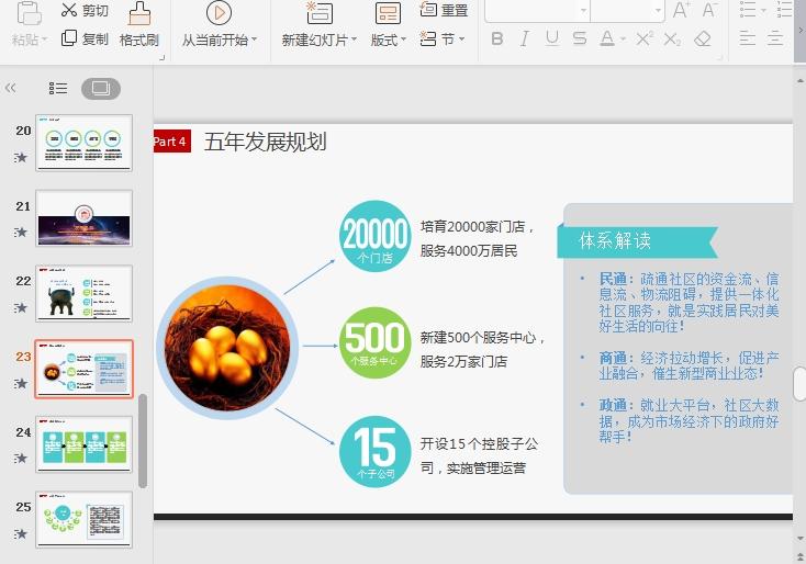 商业营销方案计划书PPT模板下载