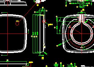 电器压铸锅cad