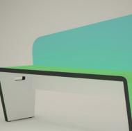创意长款木凳3D模型