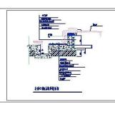 假山跌水CAD图纸免费下载